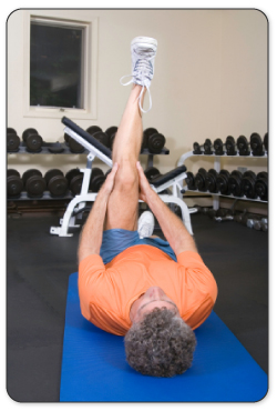 Hamstring exercise will help build up strength