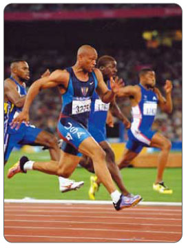 The hamstrings are used during propulsion movements such as sprinting.