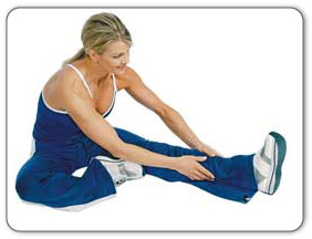 Hamstring stretches.